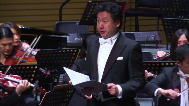 a new breed of foreign trained conductors is orchestra appearing in china as the country hopes to gain recognition in the field after winning global... - musikstil stock-videos und b-roll-filmmaterial