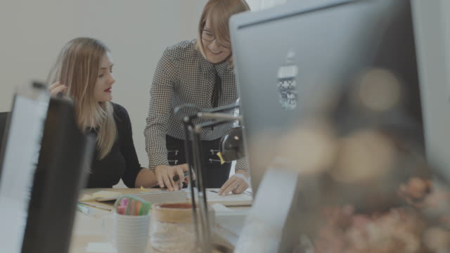 new business team works in the startup office - independent feature project stock videos & royalty-free footage
