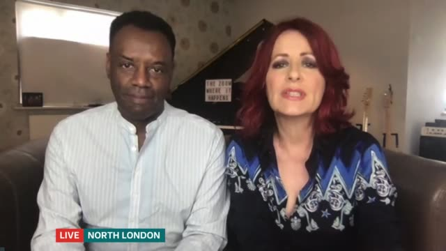 new campaign launched to encourage more people to consider adoption; england: london: int david and carrie grant live interview via internet. - image stock videos & royalty-free footage