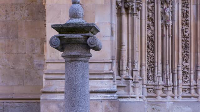 vídeos y material grabado en eventos de stock de new cathedral in salamanca city, salamanca province, castilla y leon, spain, europe - salamanca