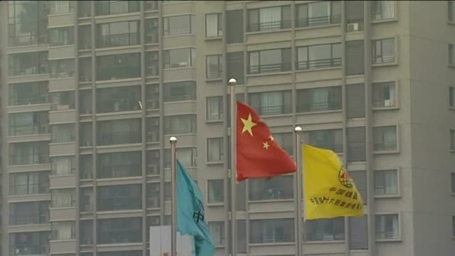 new chinese president xi jinping; beijing: gvs property development linked to relatives of xi jinping int professor xia yeliang interview sot - president stock videos & royalty-free footage