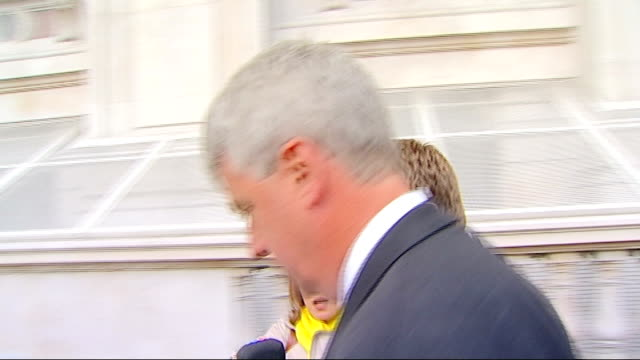 first cabinet meeting departures and interviews england london ext andrew lansley mp and caroline spelman mp through downing street gates / andrew... - dominic grieve stock videos and b-roll footage