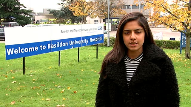 stockvideo's en b-roll-footage met new concerns at basildon hospital after being removed from special measures tina tuck interview sot various of tuck looking at laptop computer... - bare tree