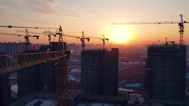new construction site - tower stock videos & royalty-free footage