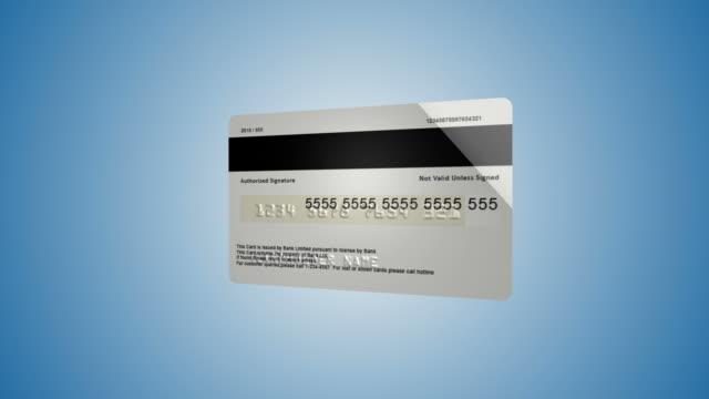 vidéos et rushes de nouvelle carte de crédit - credit card
