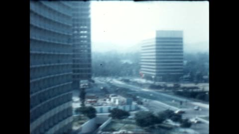 new development in the los angeles neighborhood of century city in the late 1960's. - century city stock videos & royalty-free footage
