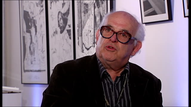 new documentary charts the life of cartoonist ralph steadman steadman interview sot talks of being outraged by politicians in the 1970's - ralph steadman stock videos & royalty-free footage