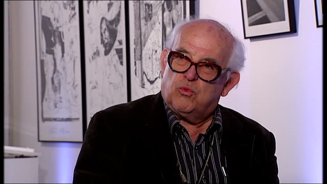 new documentary charts the life of cartoonist ralph steadman steadman interview sot world is worse than when i started - ralph steadman stock videos & royalty-free footage