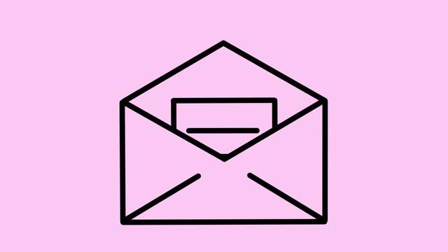 ny e-postanimering - e post bildbanksvideor och videomaterial från bakom kulisserna