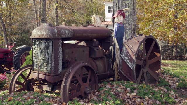 New England Autumn Scene
