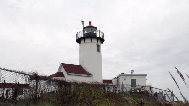 new england light house - gloucester massachusetts stock videos & royalty-free footage