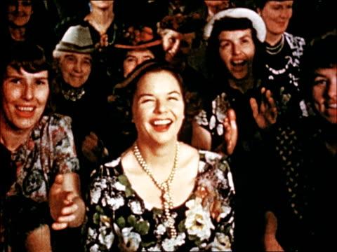 1950 new england wedding - en minut eller längre bildbanksvideor och videomaterial från bakom kulisserna