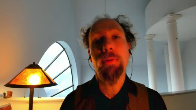 New exhibition raises issue of prejudice and bias in AI and tech industries ENGLAND London GIR INT Peter Eckersley 2 WAY interview from San Francisco...