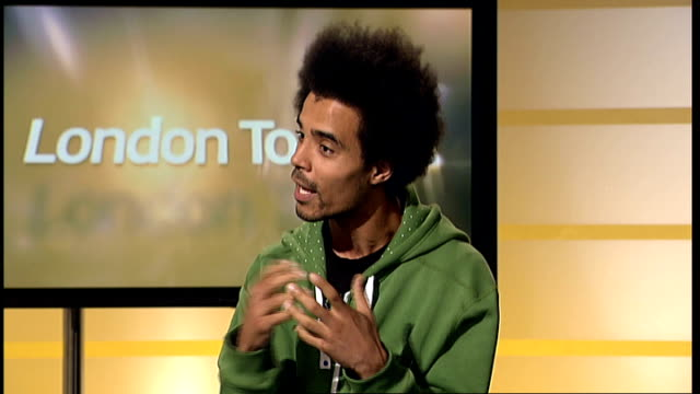 new figures reveal lack of basic literacy standards in innerlondon england london gir int akala live studio interview sot on the work he is doing... - 1984 stock videos & royalty-free footage