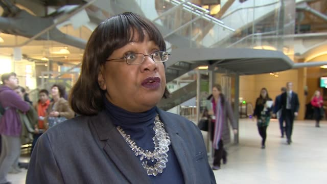new figures reveal sharp rise in violent crime diane abbott mp interview sot these are shocking figures and we see that violent crime including knife... - diane abbott stock videos & royalty-free footage