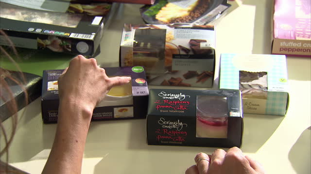new food labelling system to help people check the healthiness of products is set to be introduced across all supermarkets. labels will include... - saturated colour stock videos & royalty-free footage