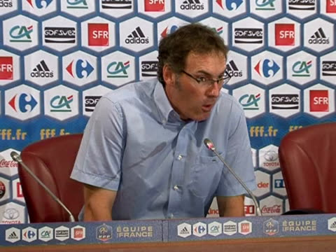 new france coach laurent blanc on tuesday promised to usher in a new era for les bleus just three weeks after the team were plunged into the darkest... - sportweltmeisterschaft stock-videos und b-roll-filmmaterial