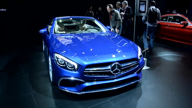 New generation cars are displayed during the Brussels Auto Show at Expo Center in Brussels Belgium on 12 2016