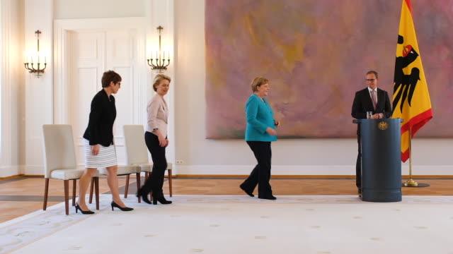 DEU: Annegret Kramp-Karrenbauer Named New German Defense Minister