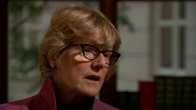 new government guidelines on alcohol consumption int dame sally davies interview sot short and longterm risks of alcohol/ - guidance stock videos & royalty-free footage