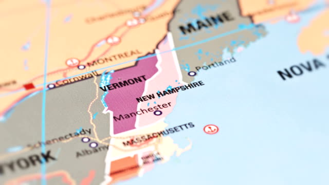 new hampshire from usa states - new england usa stock videos & royalty-free footage