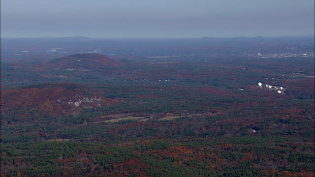 new hampshire landscape - aerial view - new hampshire,  hillsborough county,  united states - hampshire england stock videos and b-roll footage