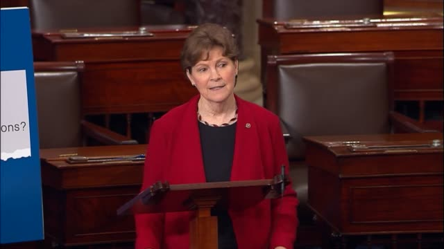 new hampshire senator jeanne shaheen discusses the need for her legislation backing an investigation into propaganda campaign by the government of... - 2016 united states presidential election stock videos & royalty-free footage