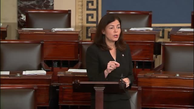 New Hampshire Senator Kelly Ayotte argues there are flaws in competing firearms legislation before the senate due for votes a week after the mass...