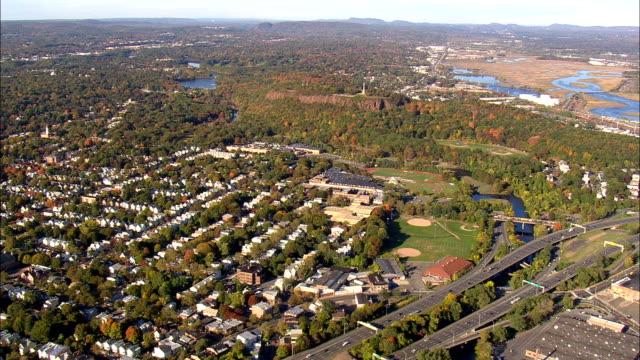 New haven - vue aérienne - Connecticut, comté de New Haven, Etats-Unis