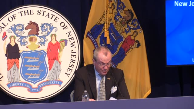 new jersey governor phil murphy, department of health commissioner judith persichilli, state epidemiologist dr. christina tan, and state police... - governor stock videos & royalty-free footage