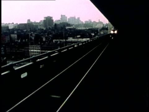 1975 montage new jersey public transit system serving the philadelphia area / united states - 1975 stock videos and b-roll footage