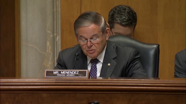 New Jersey Senator Bob Menendez says at a nomination hearing with Christopher Henzel nominated for US Ambassador to Yemen that that the Kremlin made...