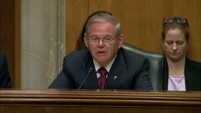 New Jersey Senator Bob Menendez says at a Senate Foreign Relations Committee mark on the nomination of Mike Pompeo to be Secretary of State that...