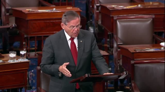 new jersey senator bob menendez says clearly the us response to russian efforts to undermine us security and institutions of democracy and... - department of defense stock videos and b-roll footage