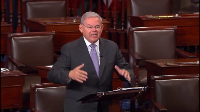 New Jersey Senator Bob Menendez says that a bill to constrain sanctuary jurisdictions runs counter to everything the nation stands for says that...