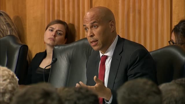 New Jersey Senator Cory Booker asks Secretary of State Mike Pompeo whether anything had changed with respect to interference threats by Russia Pompeo...