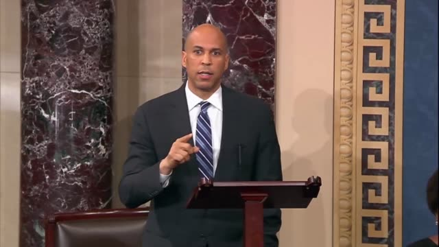 new jersey senator cory booker says after passage of an antilynching criminalization bill by voice vote that civil rights activist martin luther king... - lynching stock videos & royalty-free footage