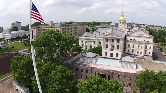 New Jersey State House aerials