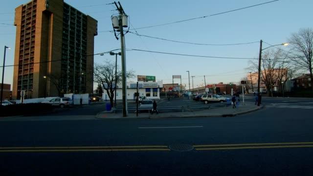Lado izquierdo de la serie New Jersey XIV fondo de placa de estudio proceso de conducción