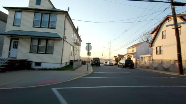 Lado izquierdo de la serie New Jersey XVI fondo de placa de estudio proceso de conducción