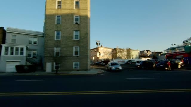 Lado izquierdo de la serie New Jersey XVII fondo de placa de estudio proceso de conducción