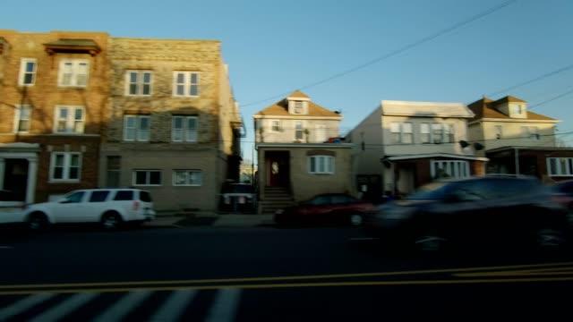 Lado izquierdo de la serie New Jersey XVIII fondo de placa de estudio proceso de conducción