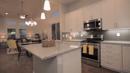 4K New kitchen slide shot