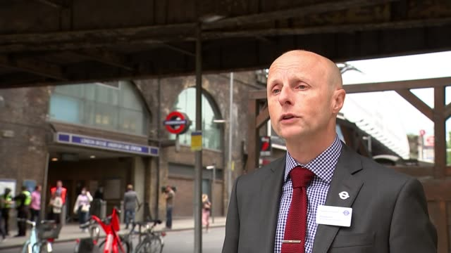 new london transport commissioner andy byford excited about new role despite challenges; england: london: int andy byford jokes about 'ghostbusters'... - ecstatic stock videos & royalty-free footage