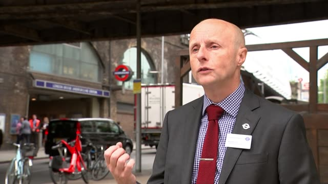 new london transport commissioner andy byford excited about new role despite challenges; england: london: ext andy byford interview sot - [re... - ecstatic stock videos & royalty-free footage