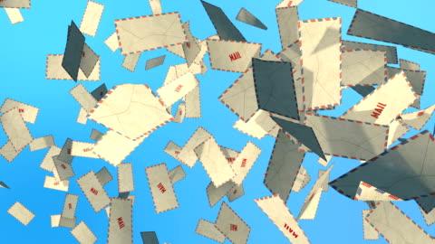 vídeos y material grabado en eventos de stock de nuevo correo - correspondencia