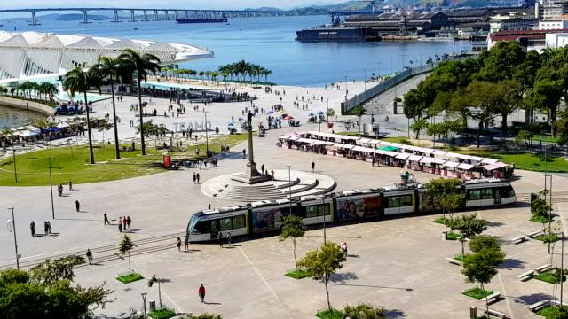 Nouvelle place Maua à Rio de Janeiro