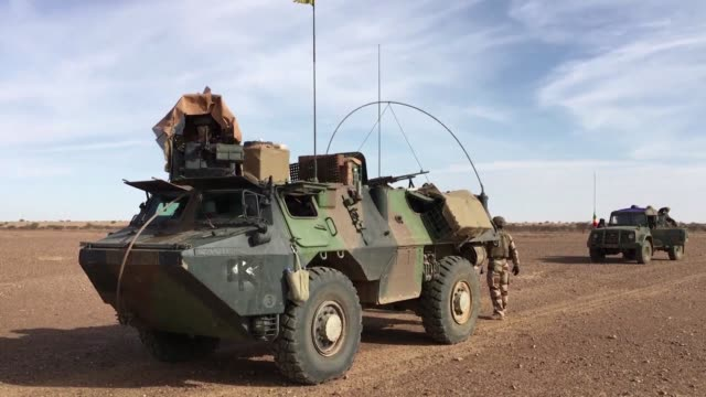 """new military force called the """"g5 sahel"""" has begun its fight jihadists and armed groups in mali - g force stock videos & royalty-free footage"""