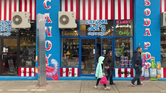 new monolith has appeared outside a candy shop in pittsburgh, pennsylvania, after similar objects were found in utah, california, romania, and britain - utah stock videos & royalty-free footage