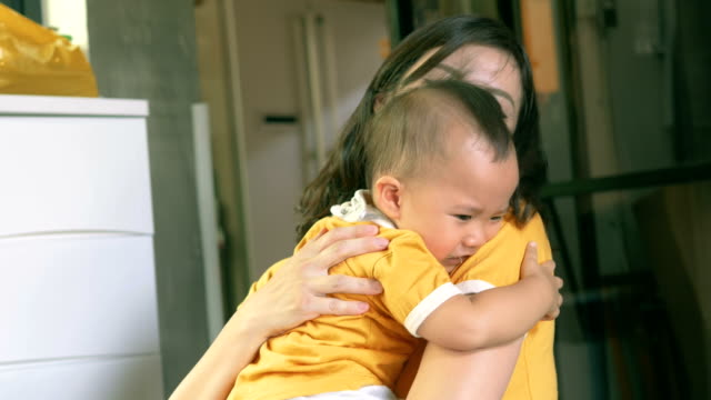 new mother problems : don't eating - one baby girl only stock videos & royalty-free footage